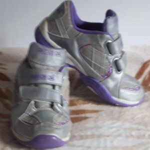 Other - Girls Purple and Silver Running Shoes